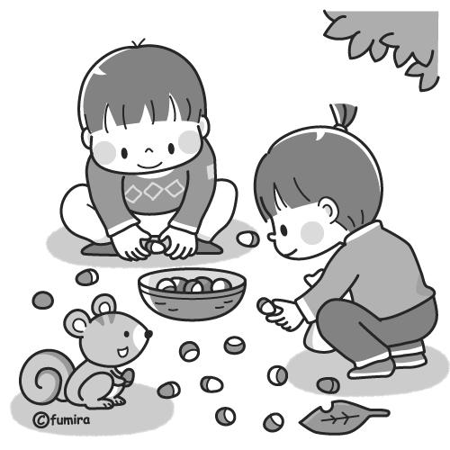 子供と動物のイラスト屋さん わたなべふみ