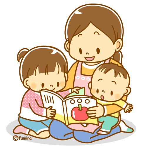 絵本を読む親子・読み聞かせの ... : 赤ちゃん 絵本 無料 : 無料